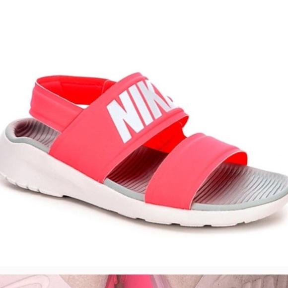 Pink Nike Tanjun Sandals | Poshmark